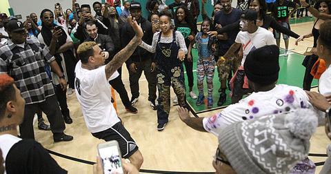 Chris brown basketbal 01