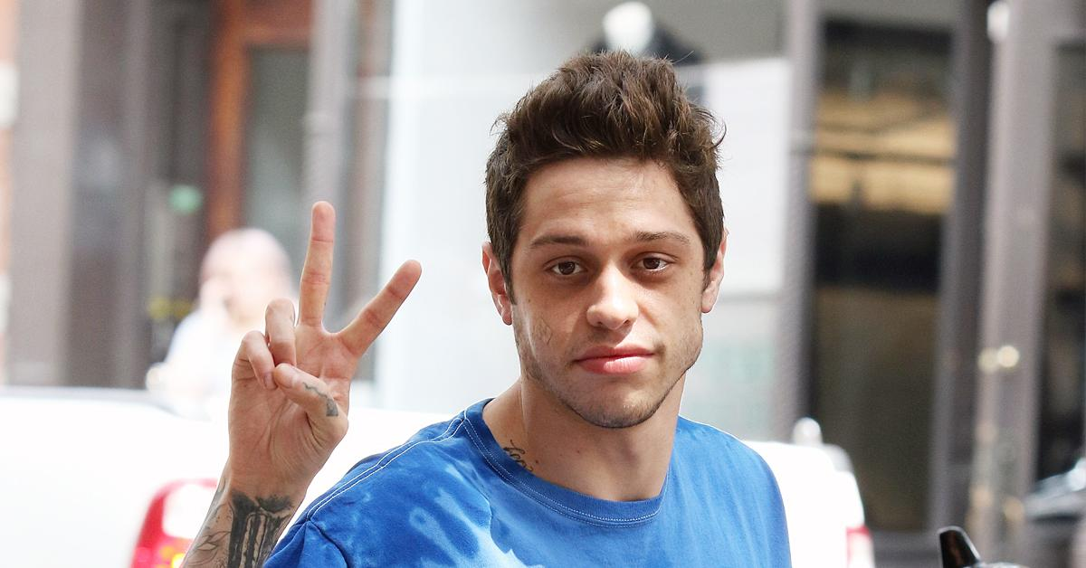 pete davidson moves out of moms basement okf