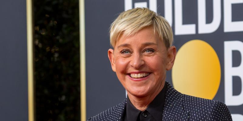 Ellen DeGeneres at the Golden Globe Awards 2020