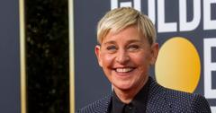 Ellen DeGeneres at the Golden Globe Awards 2020