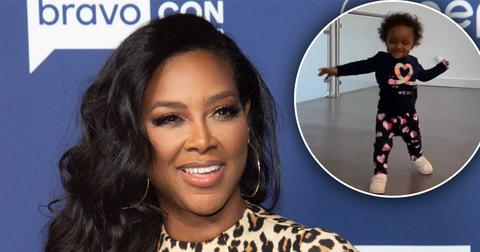 Kenya Moore Shares Video Of Daughter Brooklyn's First Steps
