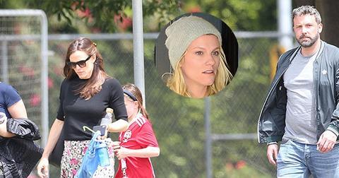 Jennifer garner ben affleck together again soccer main2