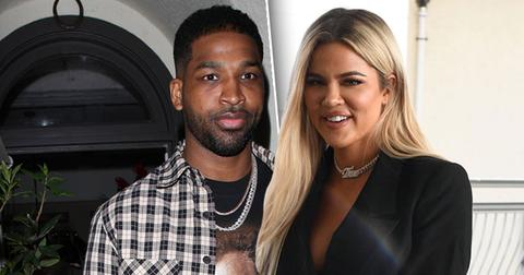 Khloe Kardashian And Tristan Thompson Show PDA At Kim's Party
