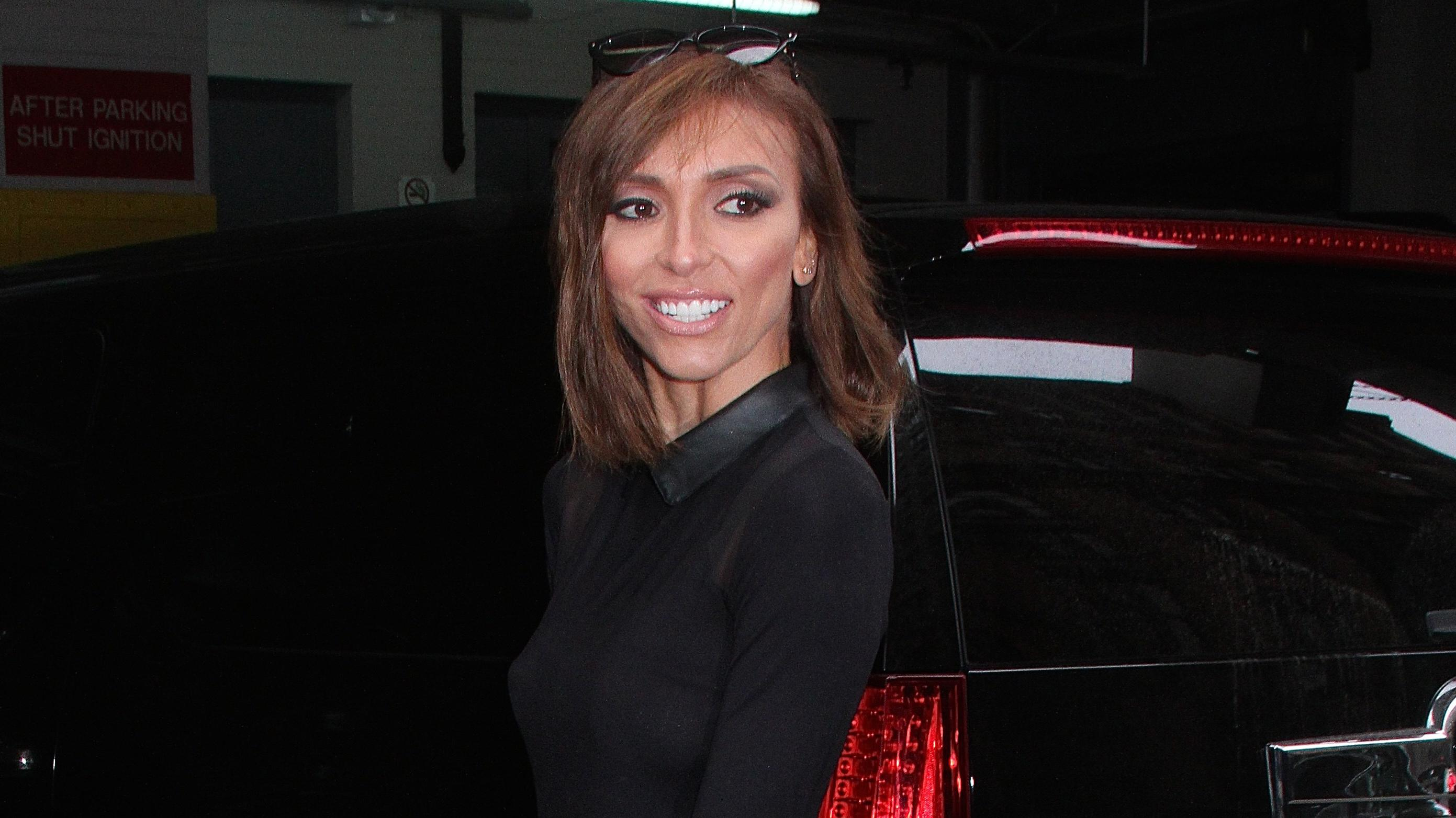 Media personality Giuliana Rancic arrives at 'HuffPost Live' in NYC's East Village