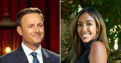bachelorette tayshia adams reaction chris harrison temporary step down apology pf