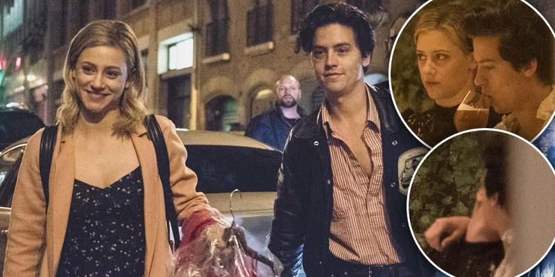 Cole sprouse lilli reinhart pp