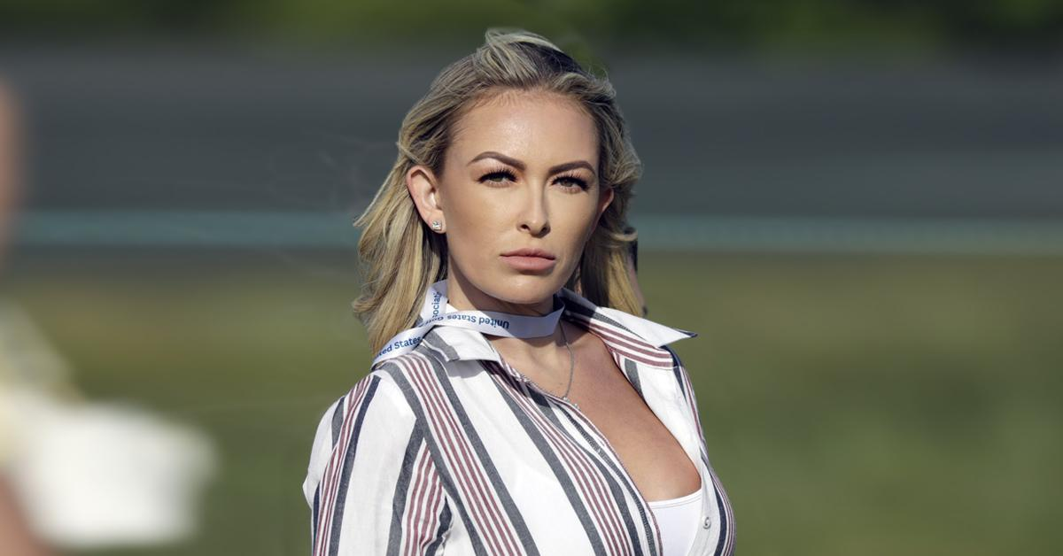 paulina gretzky nearly nude bikini photo pf