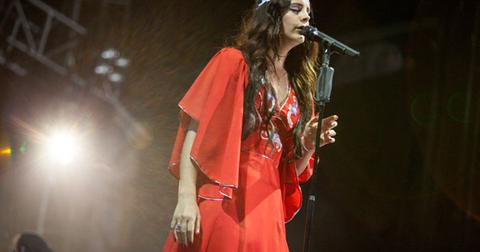 Lana Del Rey Lollapalooza 2013
