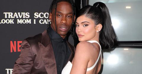 Kylie Jenner Travis Scott Documentary Premiere Split