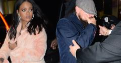Rihanna leo leaving club together