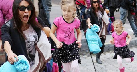 Bethenny frankel daughter bryn runs in street