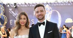 Justin Timberlake And Jessica Biel On Red Carpet