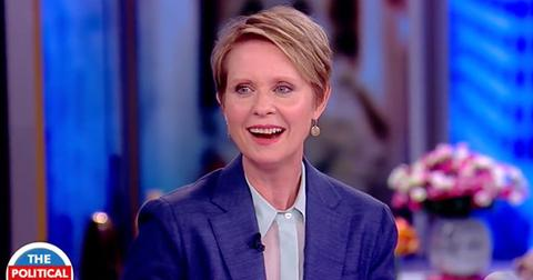 Cynthia Nixon governor end sex the city cast feud