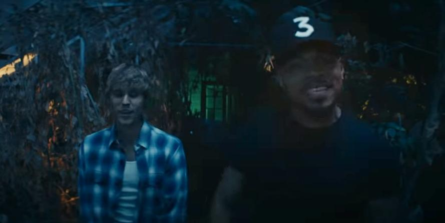 Justin Bieber and Chance the rapper