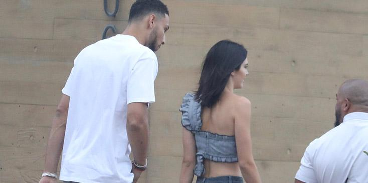 Kendall jenner with new boyfriend ben simmons pics
