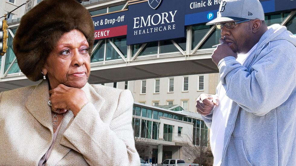 Bobbi Brown Avoids Cissy Houston At Hospital