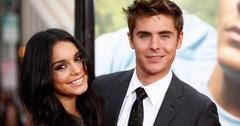 Zac Efron and Vanessa Hudgens attend the Charlie St Cloud premiere in Los Angeles