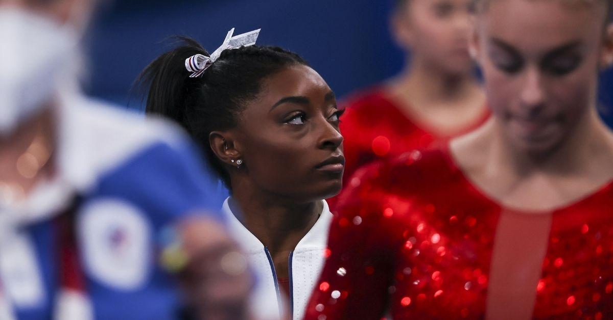simone biles withdraws vault uneven bars tokyo olympics