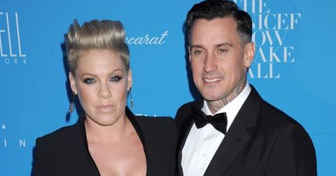 PINK and Carey Hart at 11th Annual UNICEF Snowflake Ball in NYC