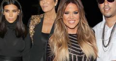 Kim kardashian kris jenner khloe kardashian french montana