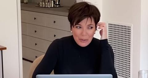 Kris Jenner Crying