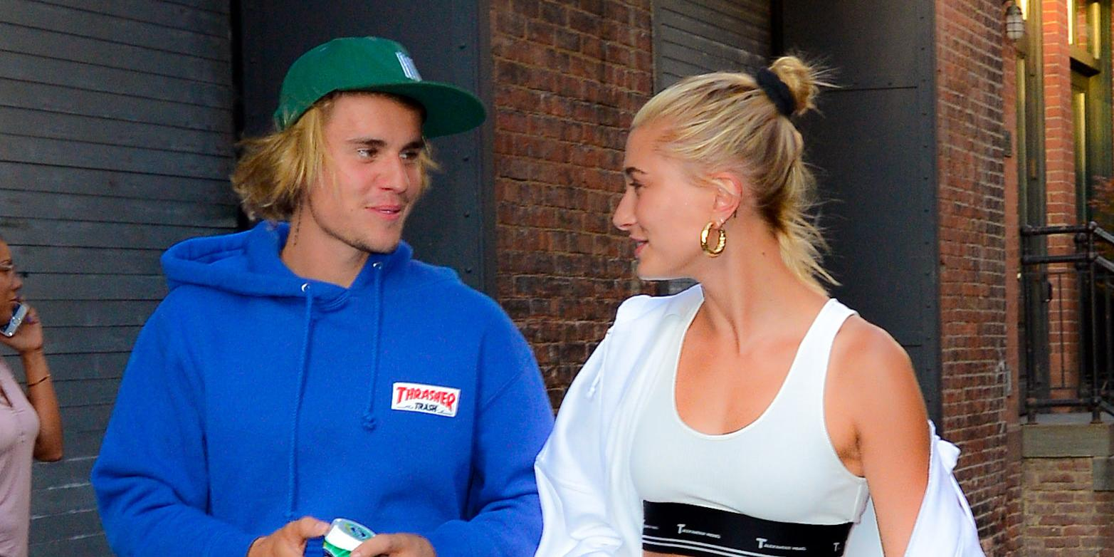 Justin Bieber and Hailey Baldwin are all smiles as they go for romantic walk in Brooklyn