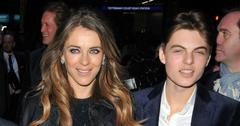 Elizabeth Hurley and Damian Hurley at An American in Paris' press night