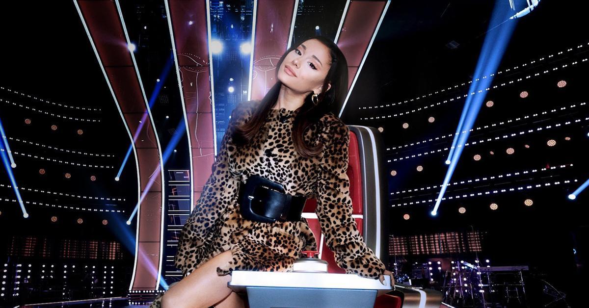 ariana grande highest paid the voice coach