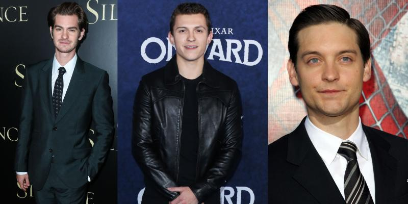 tobey-maguire-andrew-garfield-spider-man-3-cast-tom-holland