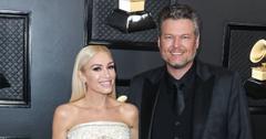 Gwen Stefani and Blake Shelton at 62nd Annual GRAMMY Awards