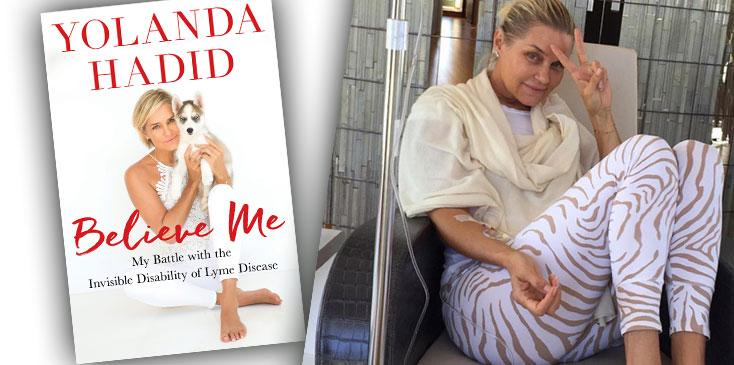 yolanda hadid divorce lyme tell all book rhobh