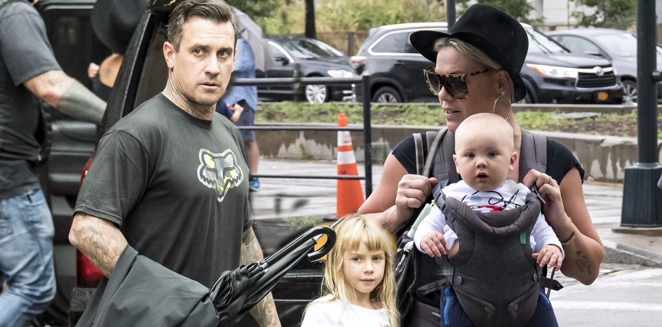 Pink carey hart kids