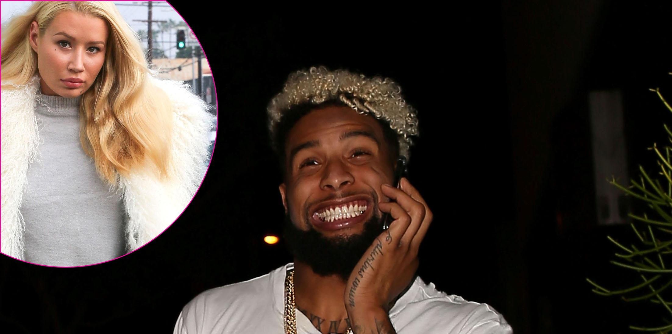 Odell Beckham arrives at Bootsy Bellows