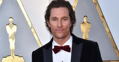 Matthew McConaughey saves son