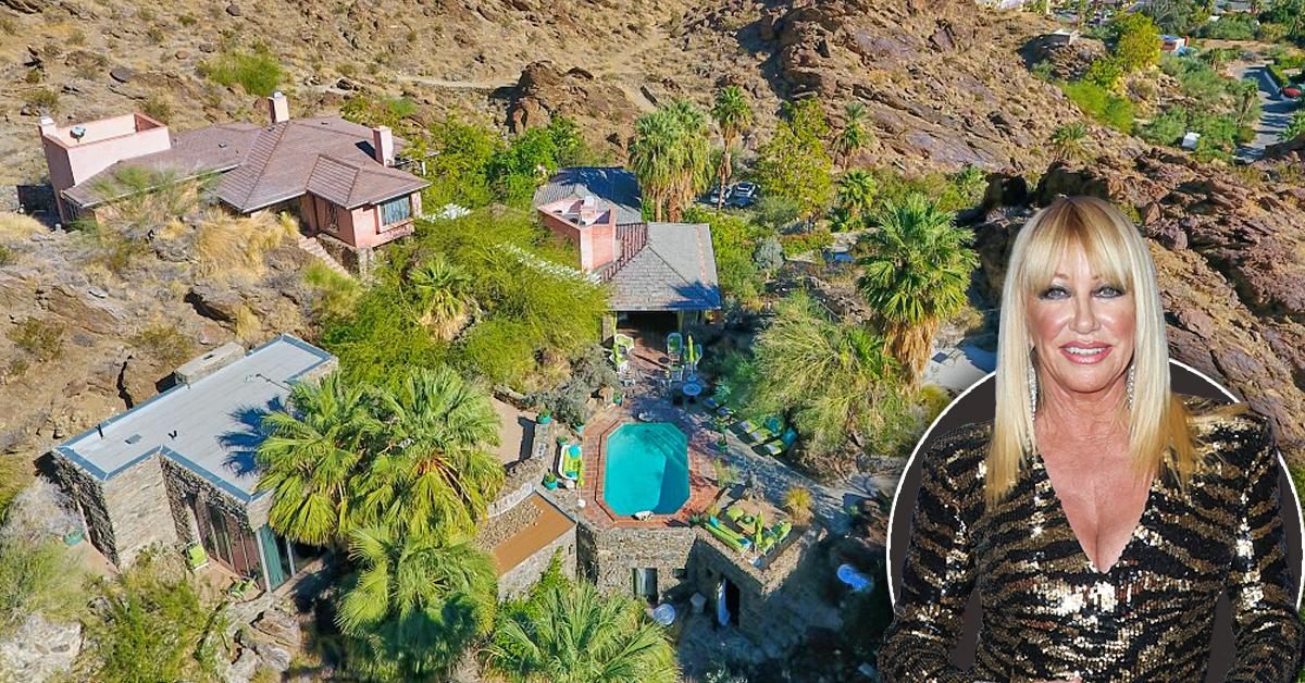 suzanne somers sells glamorous desert compound