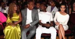 Kanye kim kardashian jay z beyonce feature