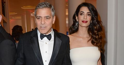 amal george clooney royal wedding guests pp