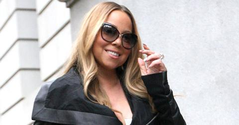 Mariah Carey seen out and about in New York City.