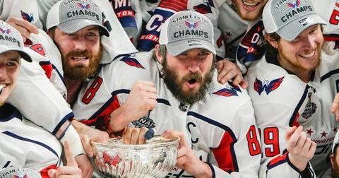 Washington capitals celebrate Stanley cup win hakkasan nightclub las vegas pp