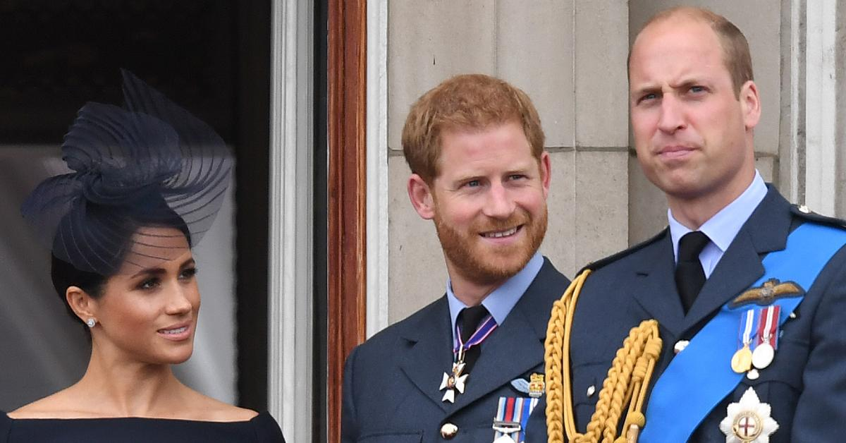 Prince Harry, Meghan Markle and Prince William