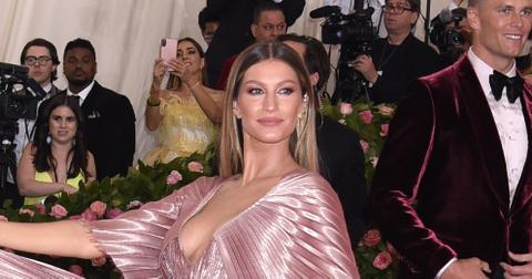 Gisele Bündchen at the 2019 Met Gala