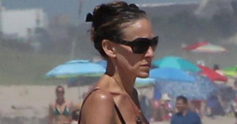 Sarah jessica parker beach pp