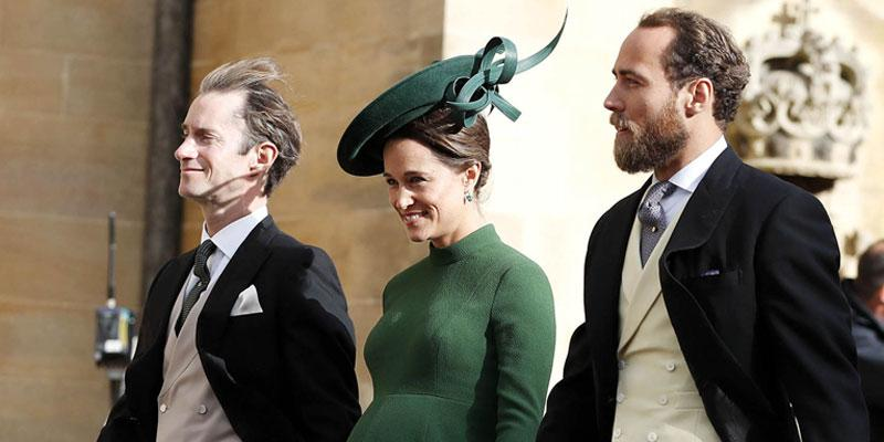 Pregnant pippa middleton princess eugenie wedding pics pp