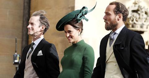 Pregnant pippa middleton princess eugenie wedding pics pp