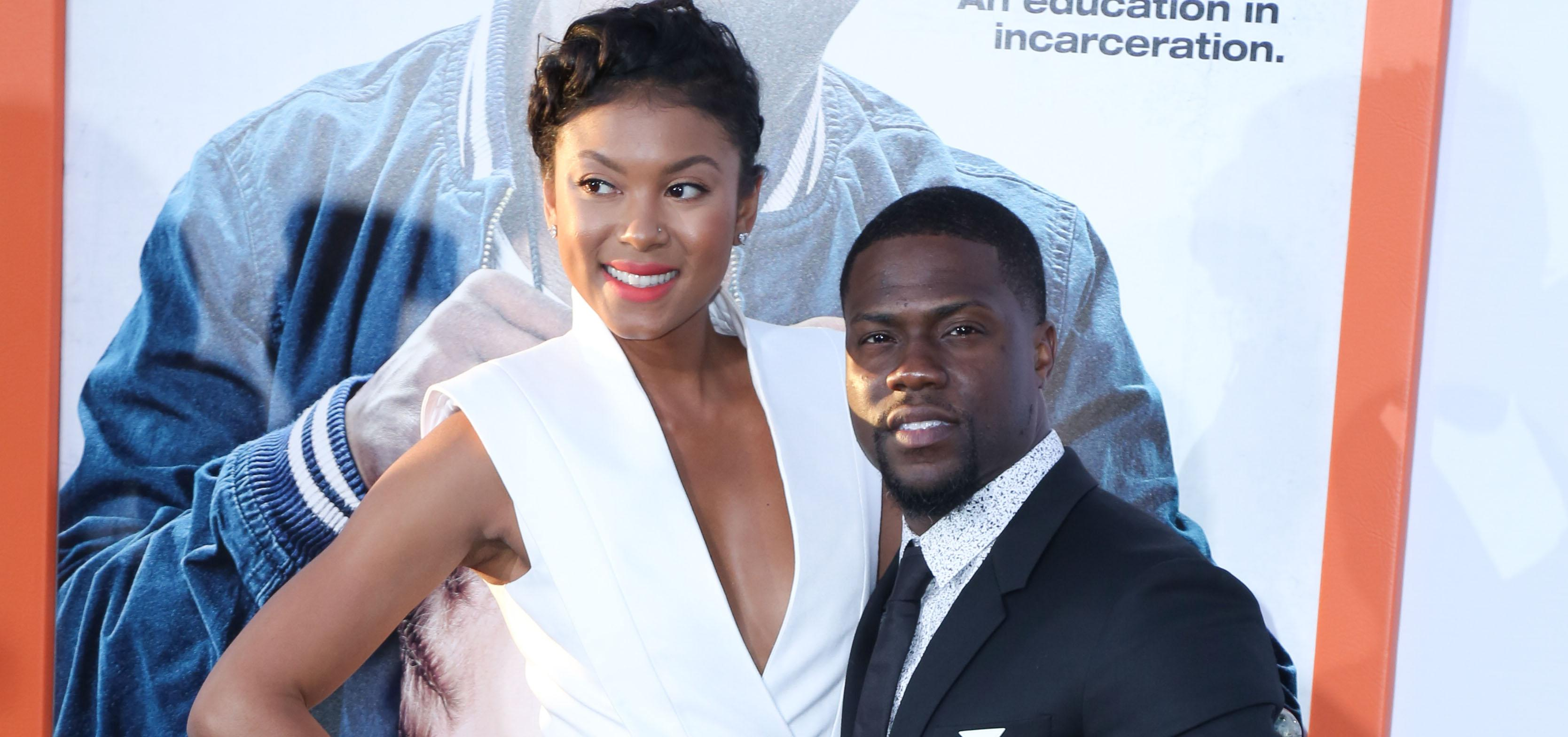 """Kevin Hart arrives for the red carpet premiere of """"Get Hard"""" at the TCL Chinese Theatre in Hollywood, CA"""