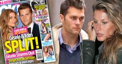 Gisele tom brady split divorce fighting