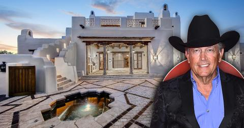george strait lists hilltop san antonio adobe mansion pf