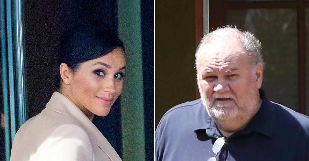 meghan markle told dad disown kids or no royal wedding pf