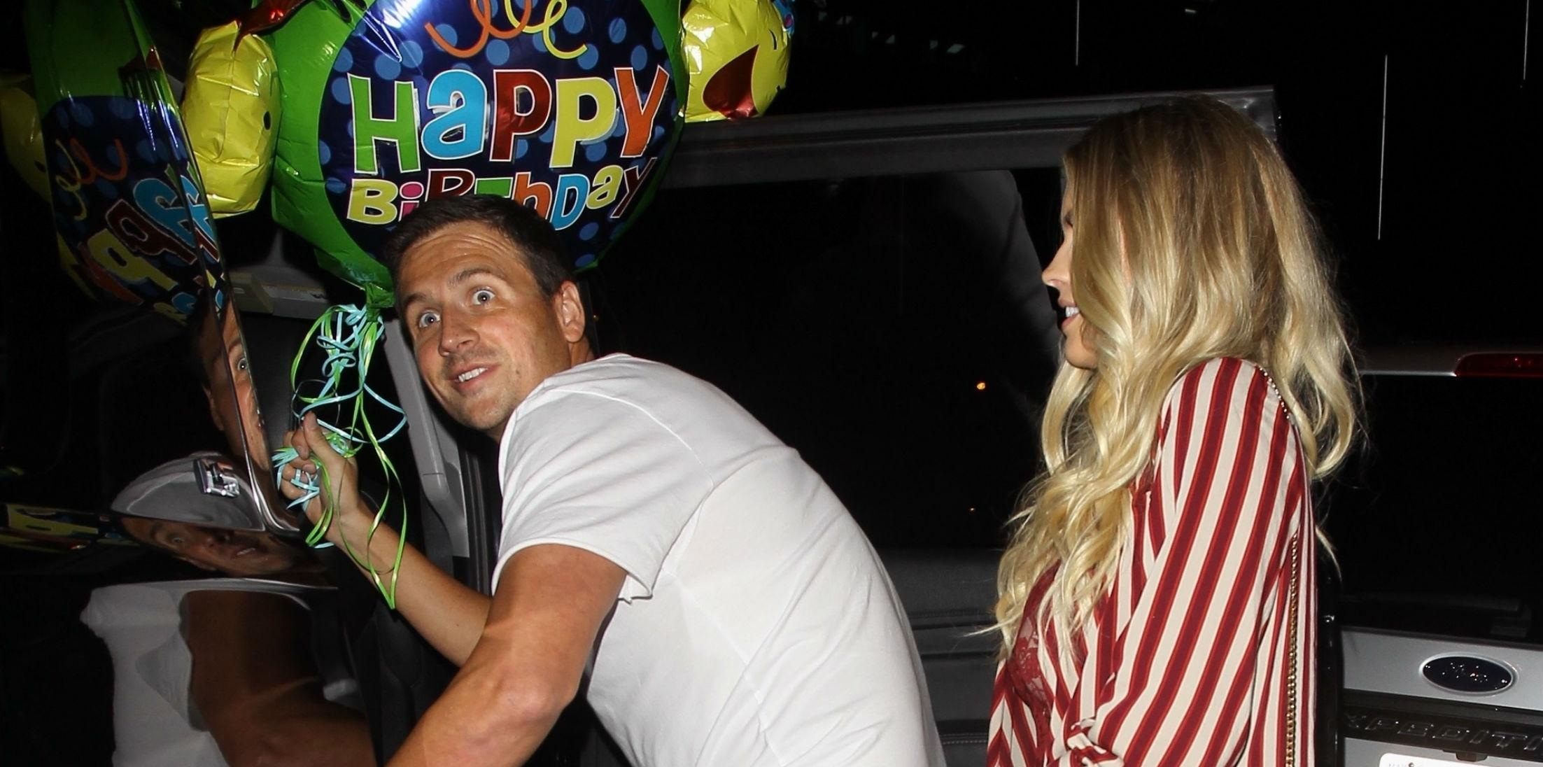 Ryan Lochte Celebrates Birthday Fiance Kayla Reid Photos hero