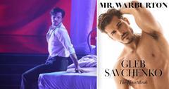 dwts gleb savchenko mrwarburton magazine cover shoot talks fighting for same sex partners pf